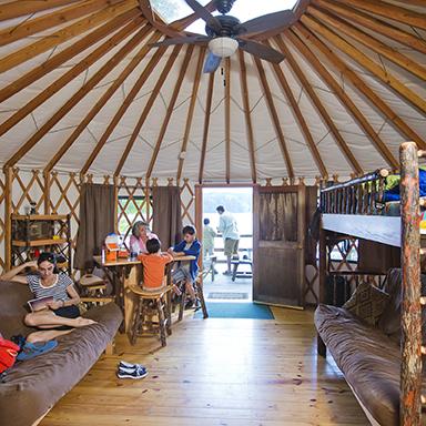 Yurt at High Falls
