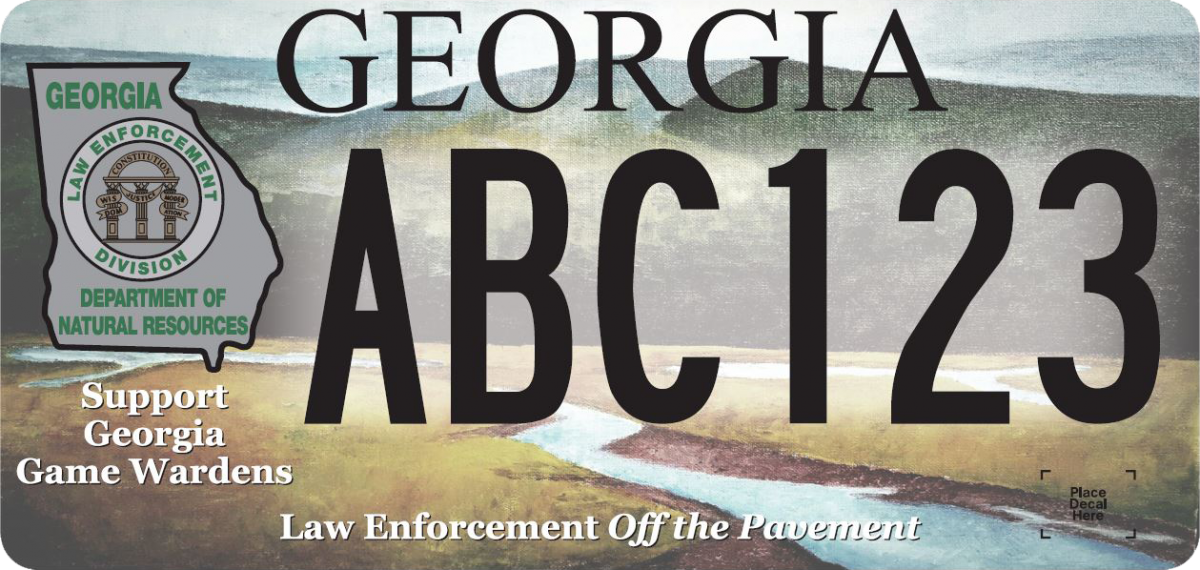 DNR Law Enforcement Specialty License Plate